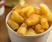 Cantinho Vegetariano: Batata Frita Crocante (vegana)