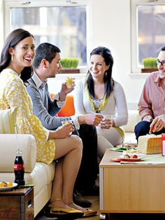 Secrets to Being a Fabulous Host Prep the Space  Position your furniture so there is enough space for guests to move and sit. Bring in more ...
