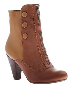 Look at this New Tan Sands of Time Bootie on #zulily today!