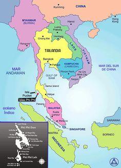 """DESCUBRE TU MUNDO: Destino: Islas Phi Phi """"joyas naturales en el mar de Andamán"""" Tailandia"""