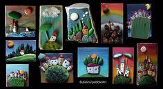 Pebble Art - Paesaggini di pietra