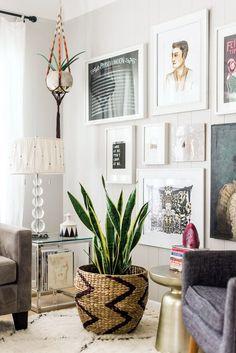 Living room #Plantascolgantes