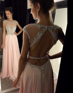 Unique long prom dress 2016, sequin long pink prom dress for teens, elegant long evening dress, plus size prom dress