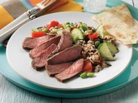 Asian Beef and Wild Rice Salad #NationalNutritionMonth