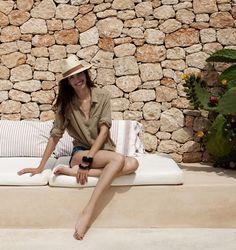 """Can Eu"" - Spanish top model Eugenia Silva´s home in Formentera (Spain) - Eugenia Silva"
