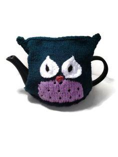 Tea Cozy Owl Knitting Pattern