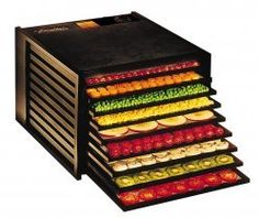 Excalibur 3900 Deluxe Non-Timer Series 9 Tray Food Dehydrator - Black: Amazon.com: Kitchen & Dining
