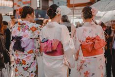 Kimonos in Asakusa Senso-Ji Temple in Tokyo - Tokyo Travel Photography - Things to Do and Things to See