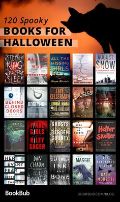 120 Books to Read for Halloween It's getting closer and closer to Halloween! Prep for the spooky holiday with 120 creepy stories… remember to read with the lights on. Best Books To Read, I Love Books, New Books, Good Books, Books For Fall, Book Club Books, Book Nerd, Book Lists, Book Suggestions