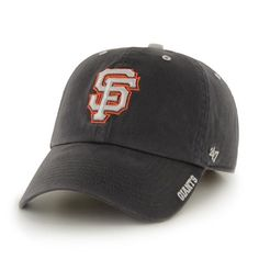 promo code 145a4 c5b9a San Francisco Giants 47 Brand Charcoal Ice Clean Up Adjustable Hat