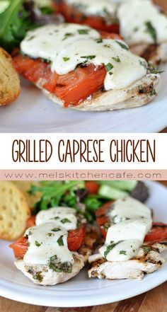 This Grilled Caprese Chicken is so ridiculously good it is worth growing an extra basil plant this summer!
