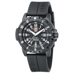 Luminox Gents Black Dial Black PU Strap F117 Nighthawk Series Watch A6401.  This versatile timepiece features a 316L steel PVD black, rotating, at 12h 1x green LLT protected by metalized sapphire glass window bezel, sapphire glass with single anti-reflecive coating and date window. It also boasts a PVD black screw crown and has a steel PVD black case. A durable black 23mm PU (polyurethane) strap completes the look. It is water resistant up to 200 meters / 20 ATM.