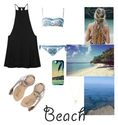 """""""Cover-ups"""" by jullia-raquel on Polyvore featuring RVCA, Dolce&Gabbana, L*Space, Casetify, Joolz by Martha Calvo and coverups"""