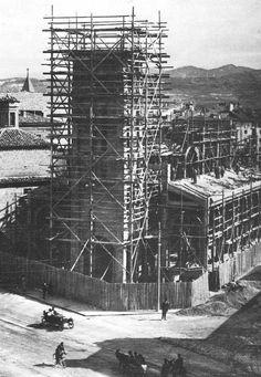 Iglesia de San Ignacio, Pamplona. Años 20, siglo XX