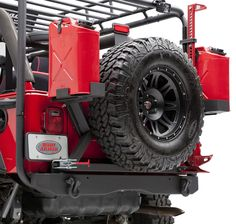 """This new Body Armor rear bumper fits '87-'06 Wrangler YJ and TJ models. It is formed from 3/16"""" rolled steel plate. The bumper ends are reinforced along with fully integrated shackle mounts. Two step textured black powder coat finish makes for a long lasting durable bumper."""