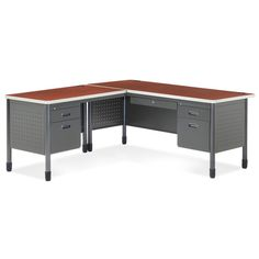 """67"""" W - L-Desk with Left Return - FREE SHIPPING 