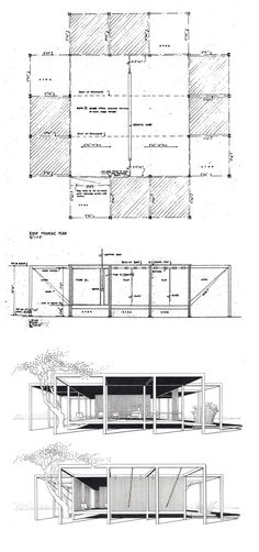 arque-tipos: Paul Rudolph - Walker Guest House... - (arquitectures)