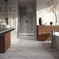 Natural Ash Spanish Tile, Wood Look Tile, Outdoor Flooring, Interiores Design, Home Kitchens, Tile Floor, Outdoor Living, Living Spaces, Tiles