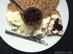 This Cherry Chutney is so great with a nice blue cheese!