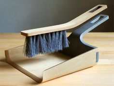 MOCOVOTE: Alfred Broom and Dustpan by Tom Chludil