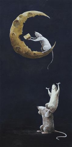 Cheese Moon by ~whiteflyinglizard (Jared Meuser) on deviantART