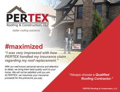 Pertex Roofing & Construction, LLC (pertexroofing) on Pinterest