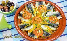 Tajine de sardine? Eu sunt mare amatoare de sardine, iar cele mai bune sardine le-am mancat bineinteles in Maroc. Cel mai mult imi plac sardinele prajite pe