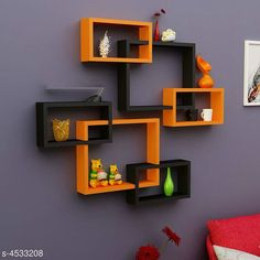 Shelves Attractive MDF Wall Shelves Material: MDF  Size(L x B X H): Large Box 40 cm x 10 cm x 33 cm small Boxes: 28 cm  x 10 cm  x 17 cm  Description: It Has 6 Pieces Of Wall Shelves Country of Origin: India Sizes Available: Free Size   Catalog Rating: ★4.3 (1121)  Catalog Name: Sia Attractive MDF Wall Shelves Vol 2 CatalogID_655761 C127-SC1622 Code: 1811-4533208-7113