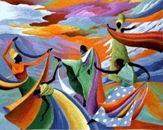 Fine Art Tapestries Skydancer Wall Tapestry, As Shown African Paintings, African American Art, American Women, Afro Art, Tapestry Wall Hanging, Wall Hangings, Black Art, Artsy, Culture
