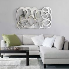Mejores 54 Imagenes De Espejos En Pinterest Mirrors Modern - Espejo-salon-moderno