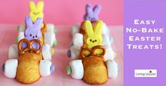 No Bake Easter Treats. What's not to love about these adorable treats!