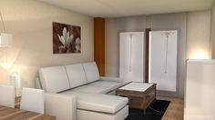 otro salon rectangular y con pilar!!! | Decorar tu casa es facilisimo.com