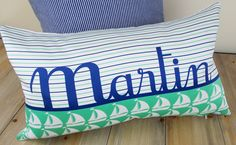 MARTIN: French personalized cushion cover