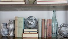 love your home – bookshelf styling