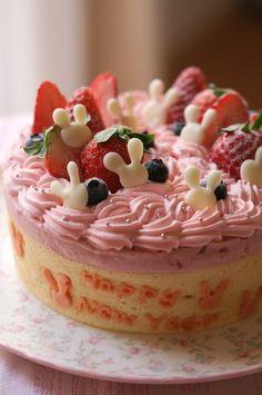 いちごムース(2011うさぎヴァージョン) @ Le sucre cake salon (Japan) ♥