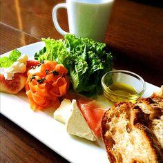 大好きなたま木亭のパンで朝ごはん