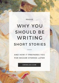 why-you-should-write-short-stories