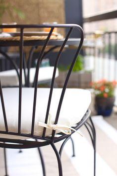 high rise patio idea