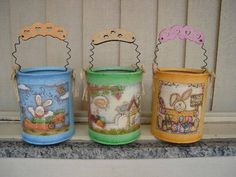 latas decoradas decoupage - Buscar con Google