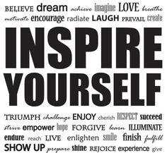 Inspire yourself and be the creator of your life! #RHSO @M_STEVES