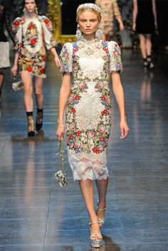 Dolce And Gabbana, roses andcherubs - Inspiration for artists from Wildfox Couture