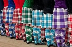 Dance kilts. reminds me of my friends! SO CUTE!!!