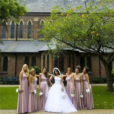 Alex and Ashley's elegant, dusky pink themed wedding day #hitchedrealwedding