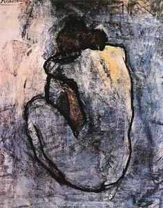 Blauer Akt, ca. 1902 Poster von Pablo Picasso bei AllPosters.de