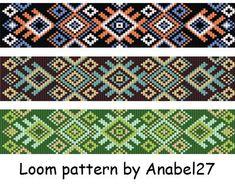 Beading pattern #10 Bead loom patterns Loom beading Bead weaving Beaded bracelet patterns Beaded jewelry patterns Bead weaving patterns