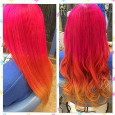CAPSULE_hair_make @capsule_hair_make マニパニグラデー...Instagram photo   Websta (Webstagram)