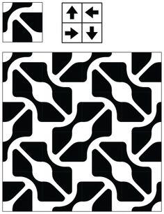Adaptive Rugs & Tile Spin: The Curse of Truchet's Tiles Graphic Patterns, Tile Patterns, Textures Patterns, Stencils, Stencil Art, Geometric Lines, Geometric Designs, Textiles, Textile Prints