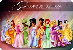 princesas disney c0m roupa - Pesquisa Google