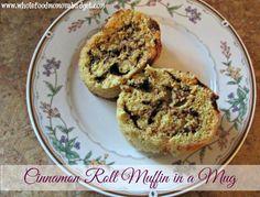 Cinnamon Roll Muffin in a Mug (E)