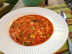 Raw Mexican Pasole Soup Recipe